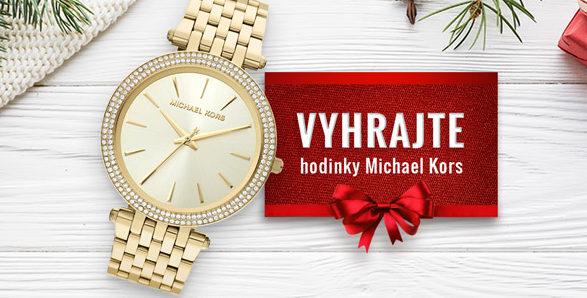Soutěž o hodinky Michael Kors Darci MK3191