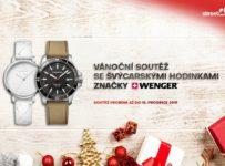 Soutěž o luxusní švýcarské hodinky značky Wenger