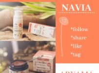 Soutěž o přírodní ručně vyráběnou kosmetiku značky NAVIA