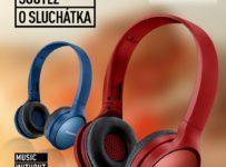 Soutěž o stylová sluchátka Panasonic HF410B