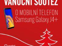 Vánoční soutěž o mobilní telefon Samsung Galaxy J4+
