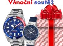 Velká vánoční soutěž o hodinky Festina dle vlastního výběru