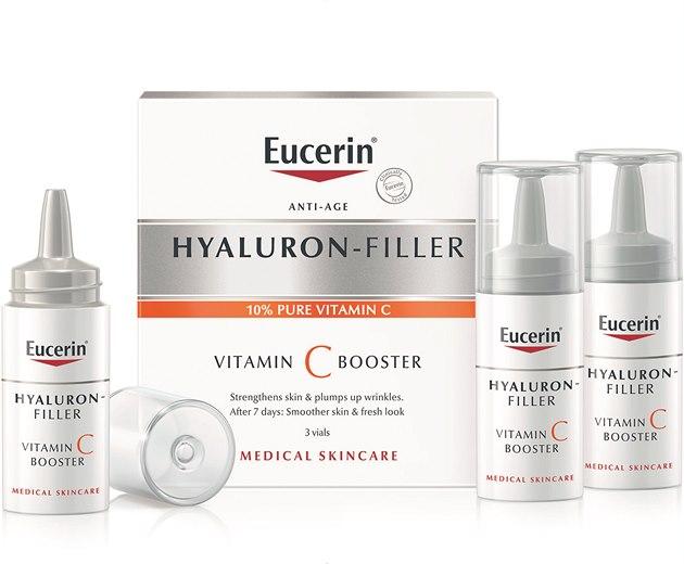 Soutěž o EUCERIN HYALURON FILLER VITAMIN C BOOSTER, 3 x 8 ml