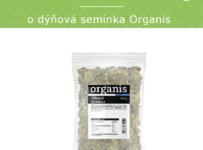 Soutěž o Dýňová semínka Organis v hodnotě 129 Kč