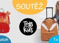 Soutěž o batůžek nebo cestovní kufr od Toys For Kids