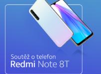 Soutěž o telefon Redmi Note 8T