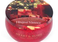 Soutěž o vonnou svíčku Heart & Home