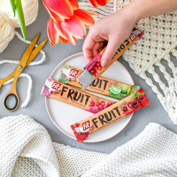 Soutěž o balíček zdravých tyčinek Fit fruit
