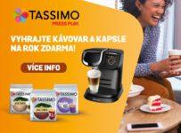 Soutěž o kávovar Bosch TAS6002 Tassimo My Way a zásobu kávy na 1 rok