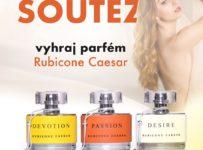 Soutěž o luxusní parfém Rubicone Caesar, dle vlastního výběru
