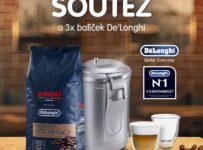 Soutěž o balíček De'Longhi - vakuovou dózu, zrnkovou kávu a set skleniček