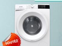 Soutěž o parní pračku GORENJE WEI72S3S