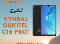 Sutěž o úplně nový smartphone OUKITEL C16 Pro