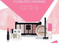 Soutěž o 5 balíčků plných novinek dekorativní kosmetiky Gabriella Salvete