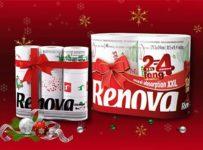 Soutěž o balení vánočního toaletního papíru a kuchyňských utěrek
