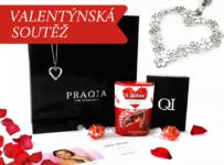 Soutěž o luxusní valentýnský balíček Praqia