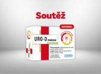 Soutěž o novinku URO-D mannosa PRO zdraví močových cest
