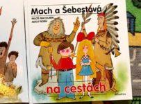 Soutěž o tři knížky M. Macourka a A. Borna - Mach a Šebestová na cestách