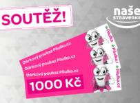 Soutěž o 3 poukazy Pilulka.cz v hodnotě 1000 Kč