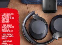 Soutěž o bezdrátová sluchátka a bezdrátový reproduktor Philips