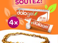 Soutěž o Dologel a dětský náhrdelník z jantaru