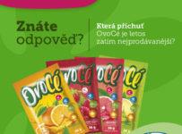 Soutěž o balíček 20 rozpustných nápojů OvoCé s vitaminy