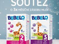 Soutěž o měsíční zásobu mlék BEBELO Milk