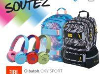 Soutěž o batoh OXY SPORT a bezdrátová sluchátka JBL
